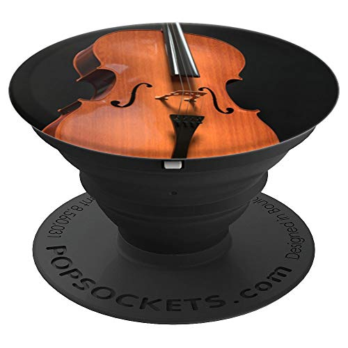 Cello String Instrument Musician Gift PopSockets Grip and Stand for Phones and Tablets
