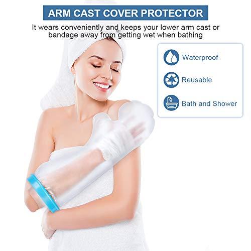 Wasserdichte Armgussabdeckung, wasserdichte Schutzguss- und Verbandabdeckung für gebrochene chirurgische Arme, Wunden und Verbrennungen