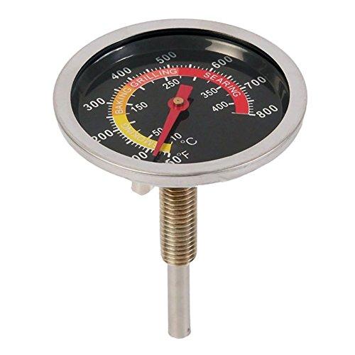 Acier Inoxydable Plaque Four Cuisinière Thermomètre Jauge de Température 400°C