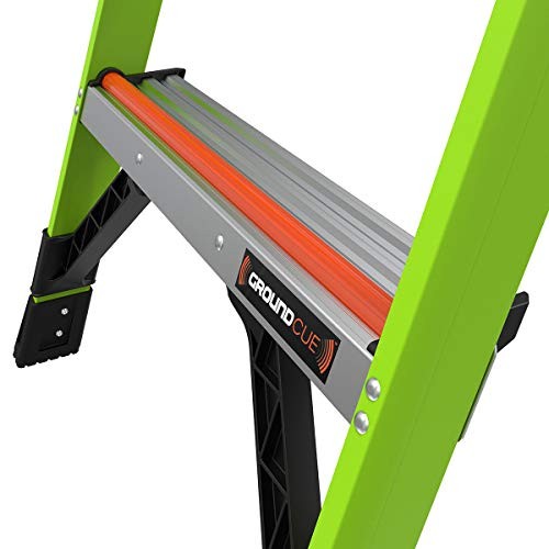Little Giant Ladders, MightyLite, 6' Stepladder, Fiberglass, Type IA, 300 lbs Weight Rating, (15366-001)