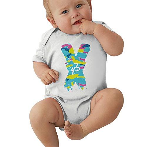 Pijama unisex para bebés y niñas, mono Jake-Paul X-Jp para niños de 0 a 2 t, blanco, 6 Meses