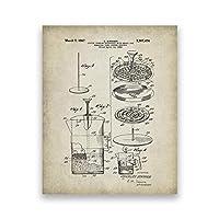 ヴィンテージコーヒーマシンポスター&プリントコーヒー愛好家ギフトキッチンの装飾レトロな壁アートキャンバス絵画コーヒーショップの装飾-50X70cm20x28インチフレームなし