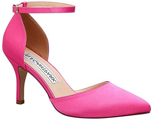 Duosheng & Elegant HC1811 Mujer Tacones de Aguja Zapatos de tacón Alto...