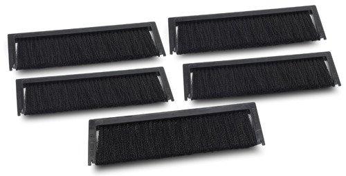 APC NetShelter SX Roof Brush Strip - Regalzubehör (Schwarz, 50 g, 235 mm, 165 mm, 51 mm, 191 x 66 x 8 mm)