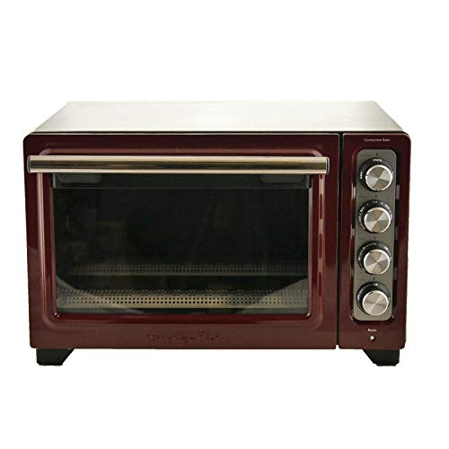 KitchenAid RKCO253GC 12 Inch Counter Top Oven Gloss Cinnamon - (Renewed)