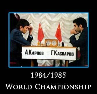 Karpov on Kasparov - His World Chess Championships  1984-1990  3 DVD Set