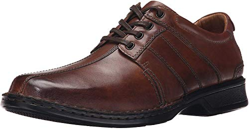 Clarks Men's Touareg Vibe Oxford,Brown,12 M US