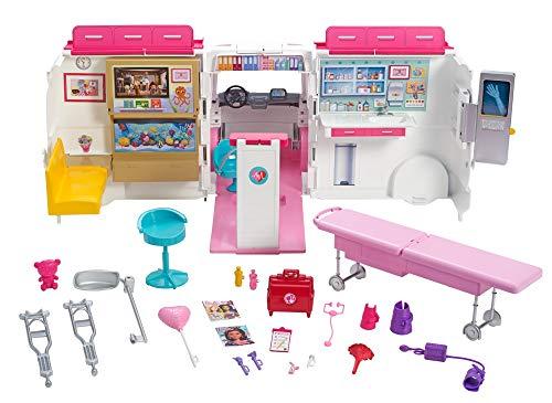 Ambulance de Secours Clinique Soins Médical Barbie - 4