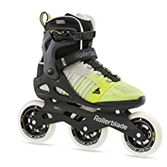 3 WHEEL DRIVE (3WD) HIGH PERFORMANCE - Increased lateral support for faster skating and enhanced, form-fit stability while training FLEX & LATERAL SUPPORT - Higher cuff for added balance and secure foot hold; 45° aluminum cuff buckle, strap and speed...