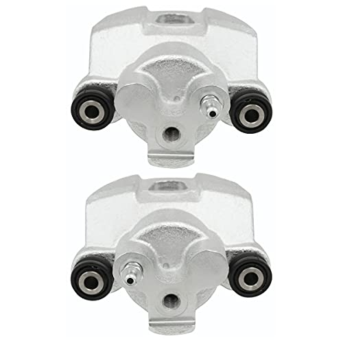 AutoShack BC284756SPR Pair Set of 2 Rear Driver and Passenger Side Disc Brake...