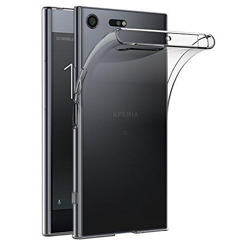AICEK Coque Sony Xperia XZ Premium, Transparente Silicone Coque pour Xperia XZ Premium Housse XZ Premium (5,46 Pouces) Silicone Etui Case