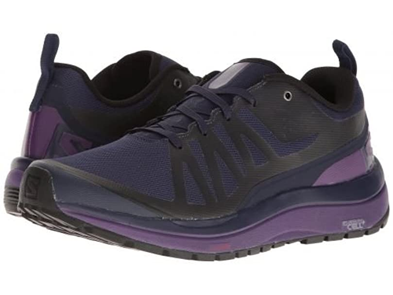 援助ご覧くださいシフトSalomon(サロモン) レディース 女性用 シューズ 靴 スニーカー 運動靴 Odyssey Pro - Evening Blue/Astral Aura/Acai [並行輸入品]
