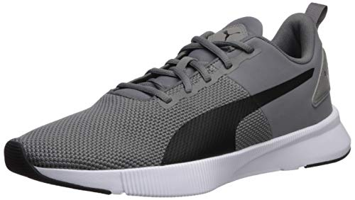 Puma Flyer Runner Tenis para correr, Unisex adulto, Charcoal Gray/Black, 28