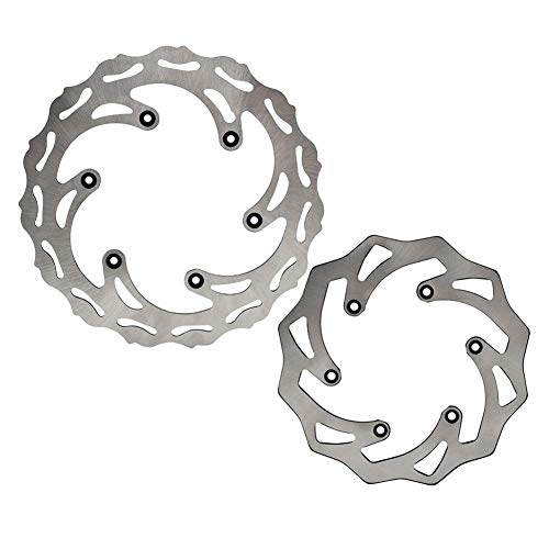 ZRNG Vorne Hinten Bremsscheibe Fit for KTM 125 150 250 350 450 500 SX SXF EXC EXCF XC XCW XCF XCFW for Husqvarna Husaberg TE FE TC FC