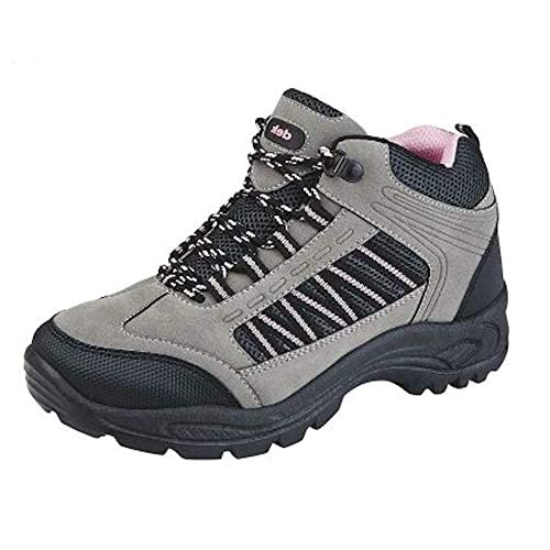 Dek, Scarpe da escursionismo donna, Multicolore (Grey/Pink), 35