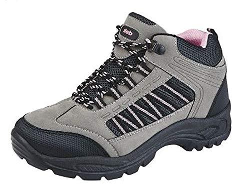 Dek, Scarpe da escursionismo donna, Multicolore (Grey/Pink), 40