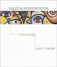 Roles In Interpretation