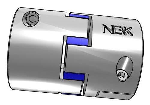 Ranking TOP1 NBK MJC-80CS-EBL-13 16-25 Jaw Coupling Clamping Flexible Type Branded goods