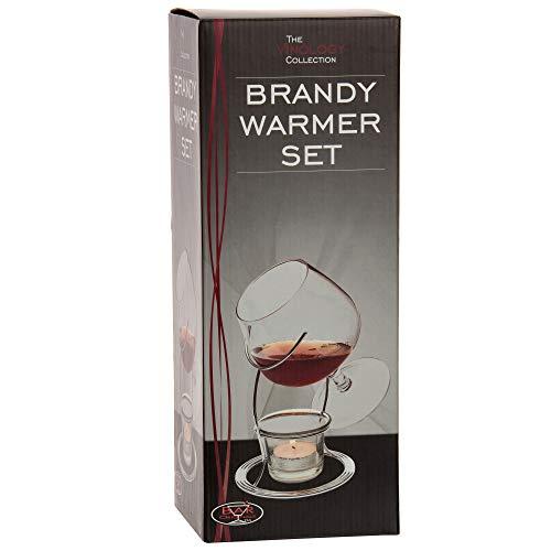 Calentador Jerayde cristal para brandy y coñac