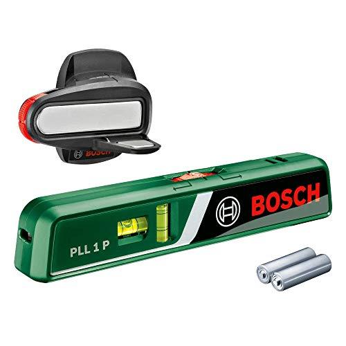 BOSCH 603663300 PLL 1 P Laser Spirit Level (Wall...