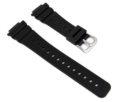 Casio Ersatzband Uhrenarmband Resin Band Schwarz für DW-5600BB-1ER DW-5600BB-*