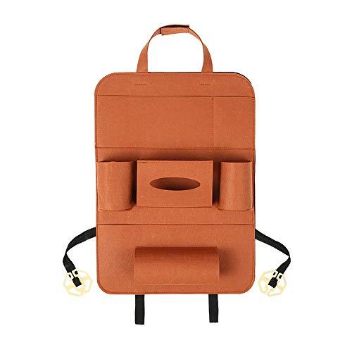 Xyhcs. 11 Farb Universal-Multifunktions-Auto Auto-Kofferraum-Rücksitz-Organisator-Speicher-Beutel Zubehör Verstauen Aufräumen Styling Stamm (Color : Khaki)