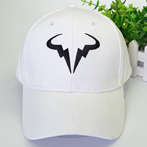 CWH-hat Nadal Bull Head Gorra de Béisbol Sombrero de Tenis Hombres Y Mujeres Deportes Al Aire Libre Sombrero para el Sol