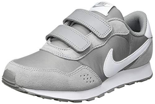 NIKE MD Valiant (PSV), Sneaker, Particle Grey/White, 28 EU