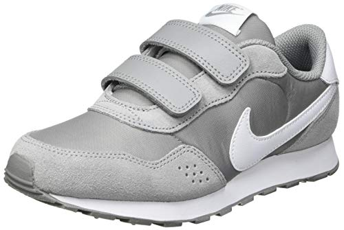 NIKE MD Valiant (PSV), Sneaker, Particle Grey White, 33 EU