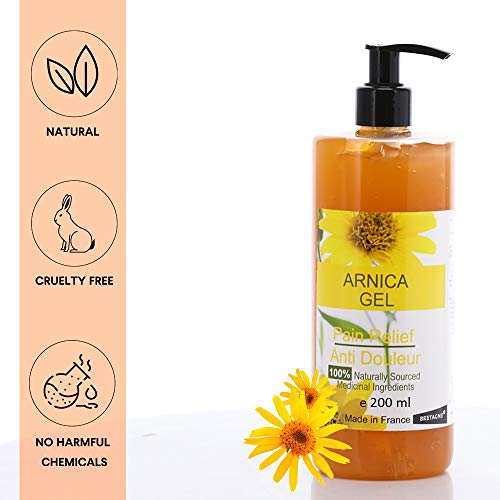 Arnika Gel 90% 200 ml Arnica Montana Gel Schnelle Aktion Kräuter Hilfsmittel 100% natürlich Sport Gel Massage-Gel