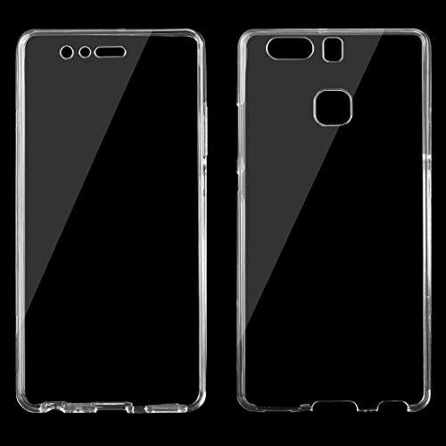 ZTH for Huawei P9 0.75mm Funda Protectora de TPU Transparente ultradelgada de Doble Cara (Transparente) (Color : Transparent)