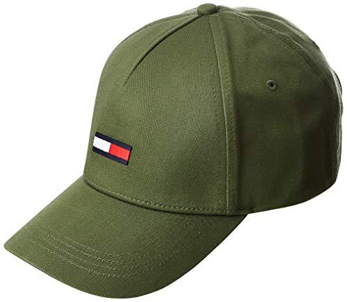 Tommy Jeans Herren TJM Flag Baseball Cap, Grün (Green Lc6), One Size