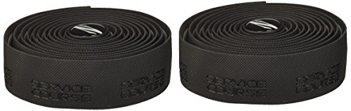 Zipp Service Course Cyclocross Bicycle Handlebar Tape with End Plugs - Black