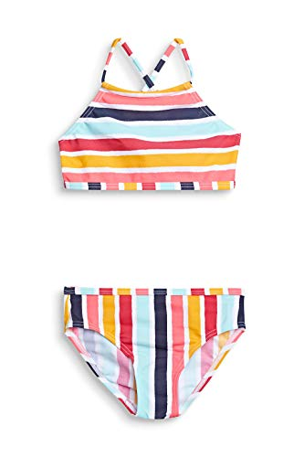 ESPRIT TREASURE BEACH MG   bustier+brief Bikini-Set, Mädchen, Gelb 116/122