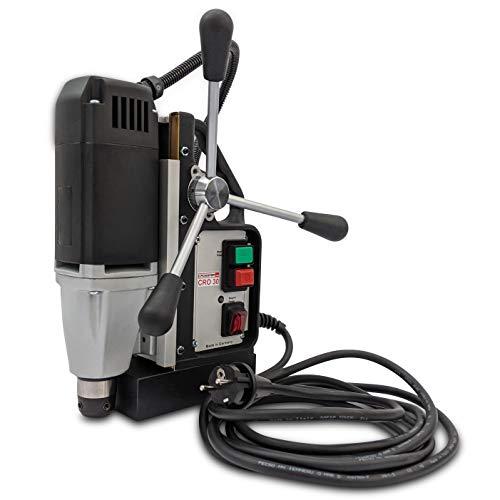 Weldon CRO30 - Taladro magnético (1050 W, fabricado en Alemania, para broca corta y larga de hasta 30 mm, incluye conexión directa de 19 mm)