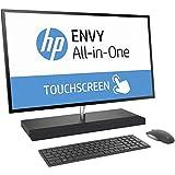 HP Envy 27 Touch Desktop 8TB SSD 32GB RAM UHD 4K (Intel Core i7-8700T Processor Turbo 4.00GHz, 32 GB RAM, 8 TB SSD, 27' UHD 4K Touchscreen, Win 10) PC Computer All-in-One