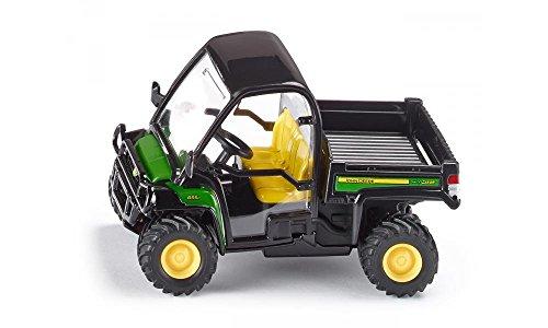 siku 3060, John Deere Gator Transportfahrzeug, 1:32, Metall/Kunststoff, Grün, Viele Funktionen