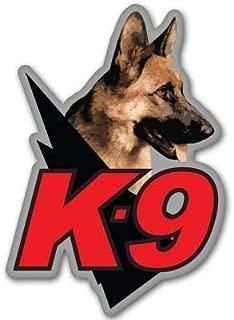 Sticker / Decal - JDM - Die cut - K9 Police Dog Unit Bumper Sticker law enforcement 76mmx127mm
