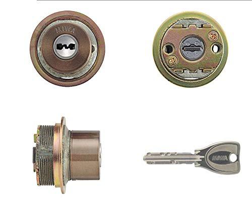 MIWA(美和ロック) PRシリンダー LIXタイプ 鍵 交換 取替え MCY-251 TE0/LIXセラミックブロンズ色(CB)33〜42mm