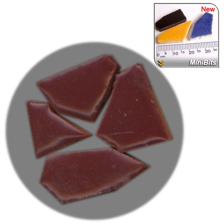 ALEA Mosaic Mosaik-Minis (MiniBits), 100g, Weinrot, RV01