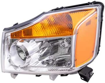 Brock Replacement Driver Import Side Headlight 2008-2015 Assembly Long Beach Mall N for