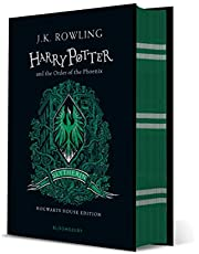 Harry Potter and the Order of the Phoenix: J.K. Rowling (Slytherin Edition -Green)