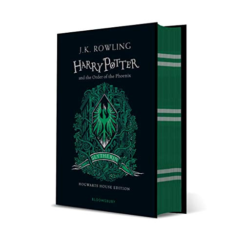 Harry Potter And The Order Of The Phoenix - Slytherin Edition: J.K. Rowling (Slytherin Edition -Green)