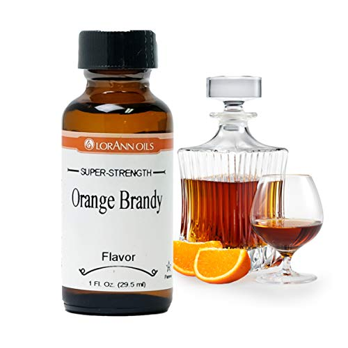 LorAnn Orange Brandy Super Strength Flavor, 1 ounce bottle