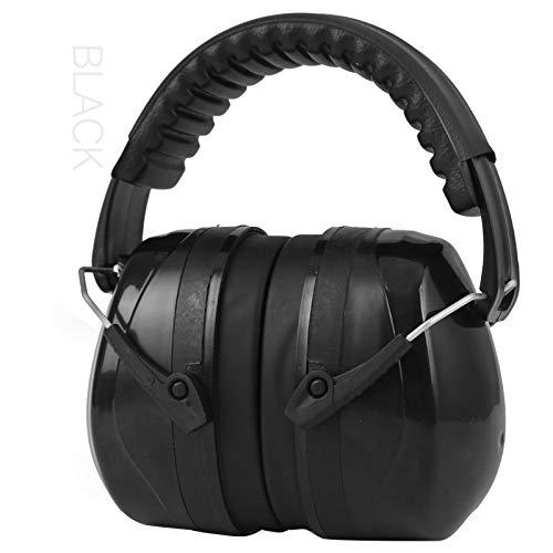 Orejeras de seguridad Defensores del oído Protección contra la reducción de ruido Protección auditiva ajustable Cancelación del ruido Orejeras para el sitio de construcción Lectura de trabajo Estudiar