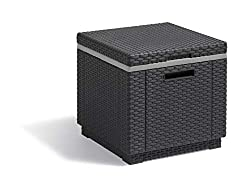 Ideal indoor/outdoor ice cool box for use in gardens, conservatories and entertaining spaces Built to keep all of your refreshments cold and fresh; can also be used as a side table or an extra seating solution Sleek and sophisticated garden furniture...