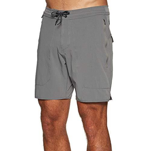 Roark Revival Layover Adventure Boardshorts 36 inch Grey
