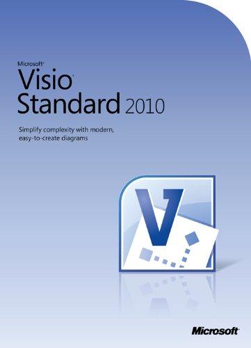 Microsoft Visio Standard 2010 - 1PC/1User - englisch