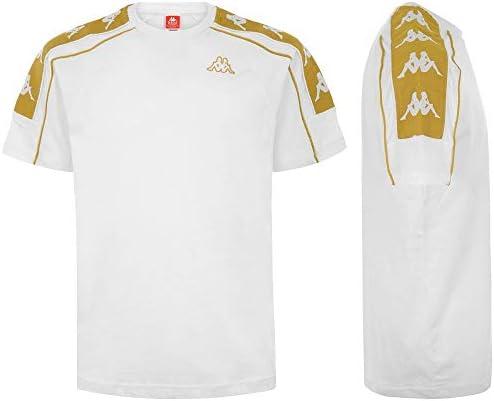 t shirt kappa 3041050 white gold