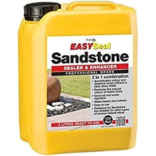 Sandstone Sealer Enhancer Protector water based solution (Azpects Easyseal)